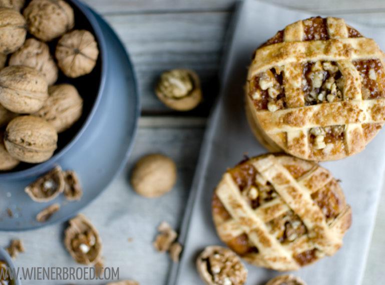 Walnuss-Karamell-Pie-Kekse mit Marzipan – #walnussgenuss