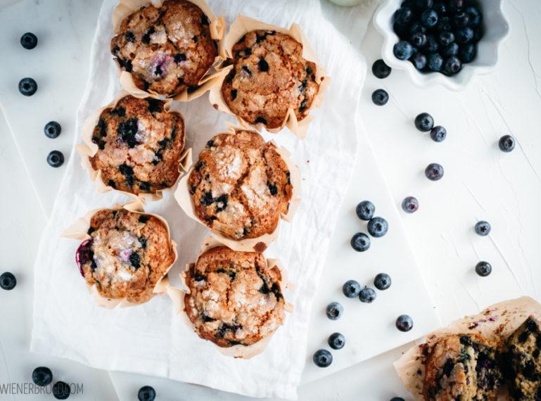 Blaubeer-Muffins {Blaubeer-Fieber für dipi..t..seren(ity)!}