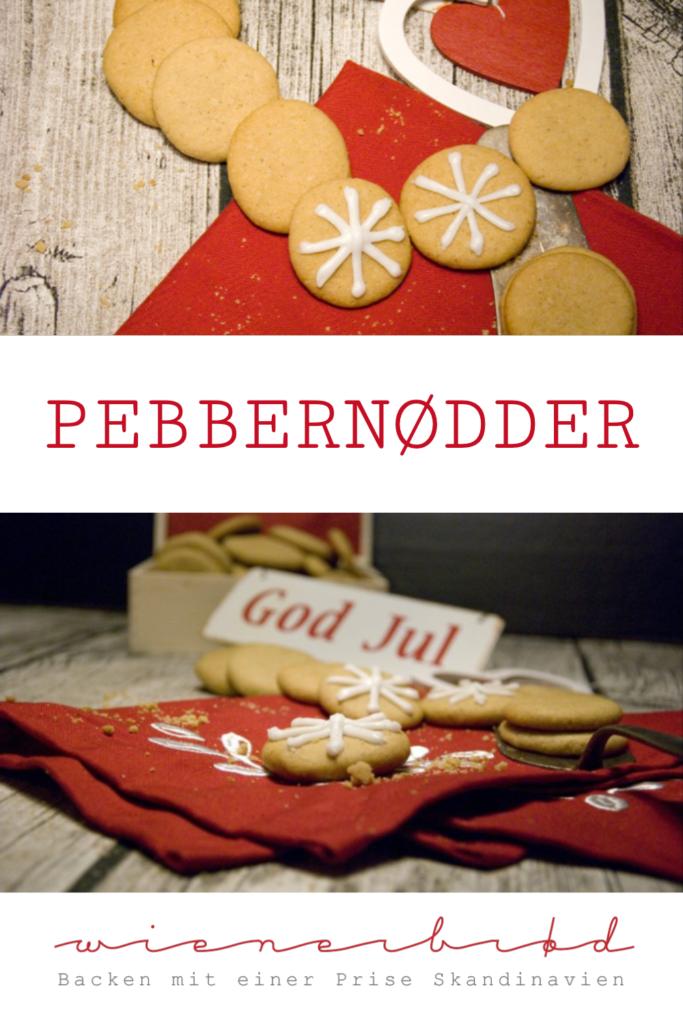Pebbernødder, dänische Pfeffernüsse, knusprige Kekse mit weihnachtlichen Gewürzen / Pebbernødder, Danish Gingersnaps [wienerbroed.com]