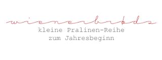 Wienerbrøds kleine Pralinen-Reihe zum Jahresbeginn