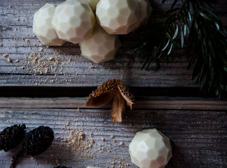 Happy Neujahr und eine #foodblogbilanz {Spekulatiustrüffel}