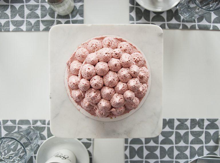 Erdbeer-Limes-Torte {Was schon 4 Jahre?}