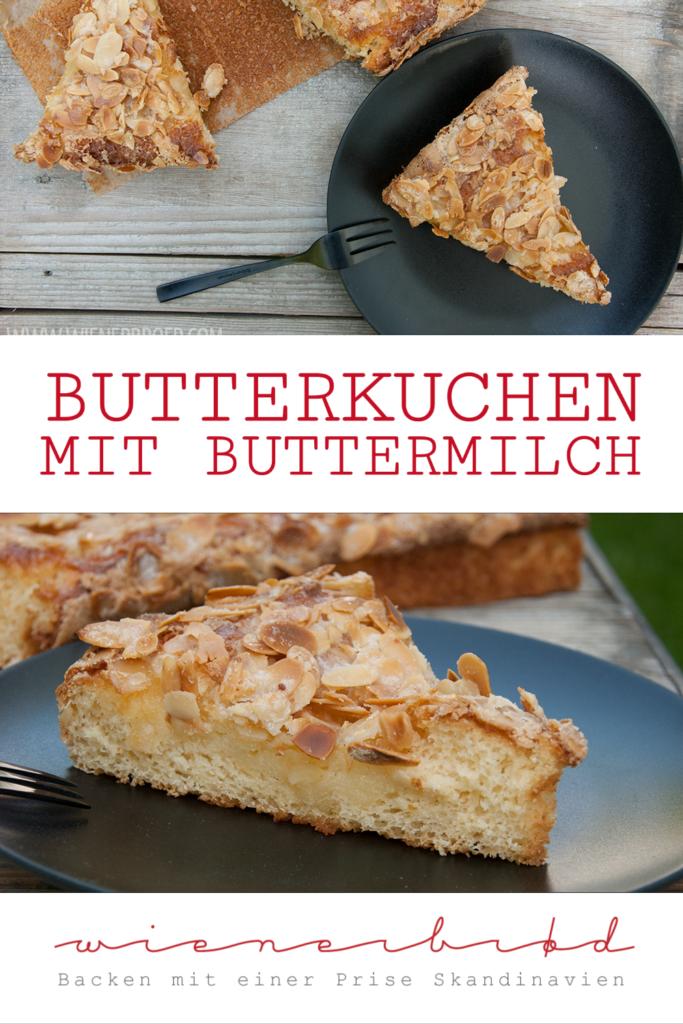 Butterkuchen - ein saftiger Klassiker unter den Blechkuchen [wienerbroed.com] Butter cake, a classic German traybake