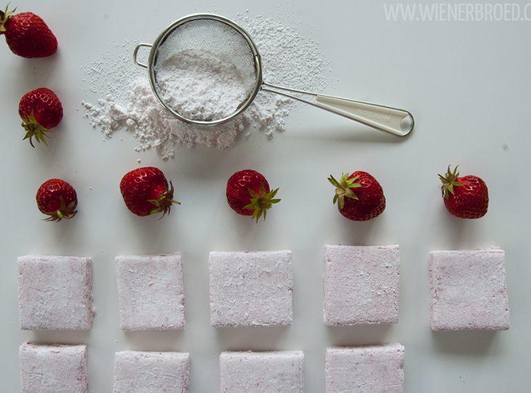 Erdbeeren noch süßer? Geht! {Erdbeer-Marshmallows}