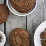 Lakritz-Erdbeer-Cookies 7 Licqurice strawberry cookies [wienerbroed.com] Supersofte Cookies mit feiner Lakritz-Note und frische Erdbeeren / super soft cookies with a lhint of licquorice and fresh strawberries