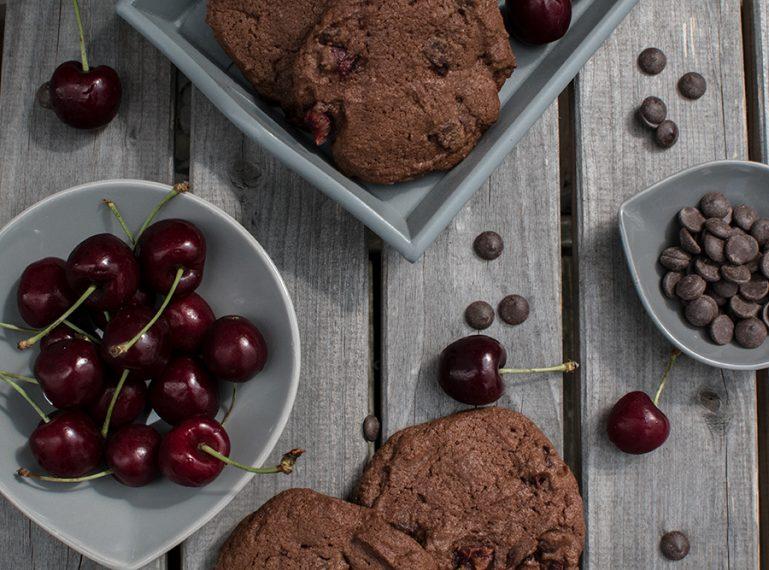Kirsch-Schokolade-Cookies – Und nochmal Kirschen…