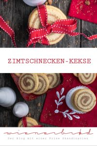 Zimtschnecken-Kekse, knusprige Kekse, die schmecken und sehen aus wie Zimtschnecken / Cinnamon bin cookies, crispy cookies that taste and look like cinnamon buns [wienerbroed.com]