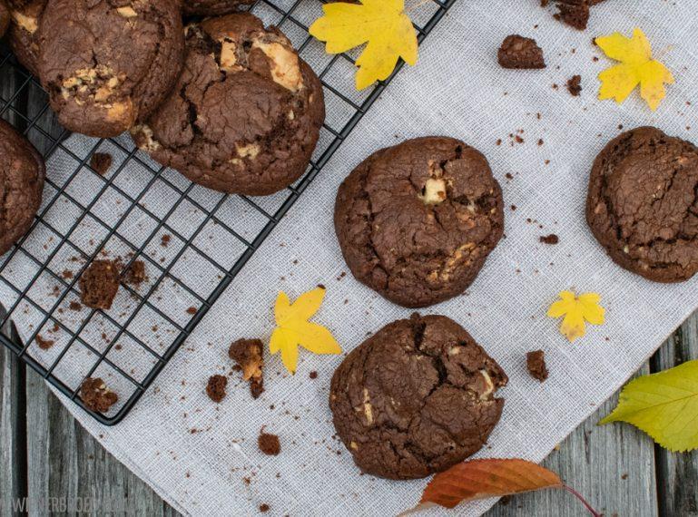 {Triple Choc Cookies} Schoki, Schoki und noch mehr Schoki
