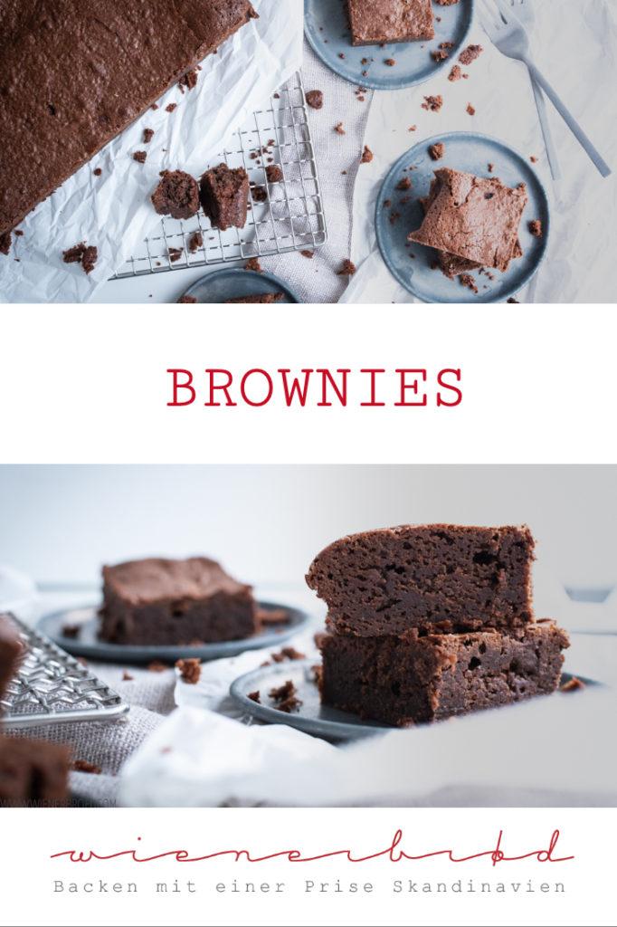 Brownies - ein Ratzfatz-Rezept für den Klassiker aus den USA, perfekt klitschig und saftig / Brownies - the perfect US' classic