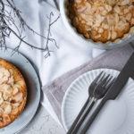 Rhabarber-Mandelkuchen, schnelles Rezept für herrlich saftigem schwedischen Mandelkaka mit Rhabarber / Rhubarb almond cake, quick recipe for juicy Swedish Mandelkaka with rhubarb [wienerbroed.com]