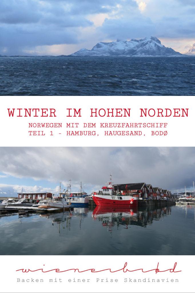 """Mit der AIDAcara in Alta im Winter in Norwegen auf der Reise """"Winter im hohen Norden"""" – Auf in den hohen Norden, von Hamburg über Haugesund nach Bodø [wienerbroed.com]"""