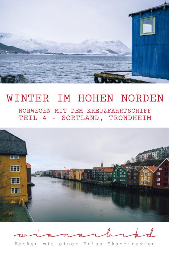 """Mit der AIDAcara im Winter in Norwegen auf der Reise """"Winter im hohen Norden"""" – Es geht südwärts, ein Streifzug durch Sortland und Trondheim [wienerbroed.com]"""