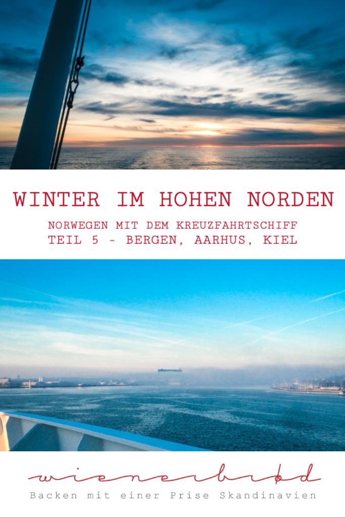 """Mit der AIDAcara im Winter in Norwegen auf der Reise """"Winter im hohen Norden"""" – Der letzte Teil der Reise, von Bergen über Aarhus nach Kiel [wienerbroed.com]"""