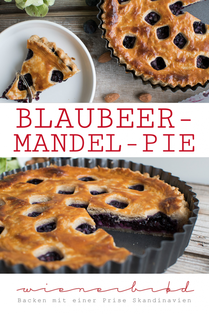 Blaubeer-Mandel-Pie, das perfekte Soulfood für Schmuddelwetter /Blueberry almond pie, the perfect soulfood for lousy weather [wienerbroed.com]