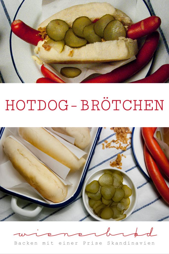 Rezept für Hotdog-Brötchen, saftige Brötchen für dänische Hotdogs nach dem Rezept von Claus Meyer / Recipe for Hot Dog buns [wienerbroed.com]
