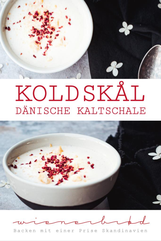 Rezept für Koldskål, klassische dänische Kaltschale aus Buttermilch, Ei und Vanille, ein perfektes Sommeressen / Koldskal, Danish buttermilk dessert [wienerbroed.com]