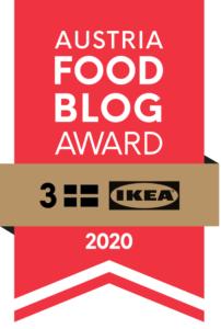"""Wienerbrød hat beim Austria Food Blog Award AFBA 2020 den dritten Platz in der Kategorie """"Schweden & Swedish Lifestyle"""" erreicht"""