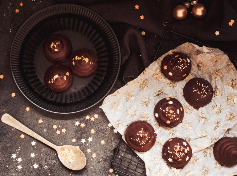 Jul-Flødeboller | Weihnachtsschaum und Weihnachtsschokolade