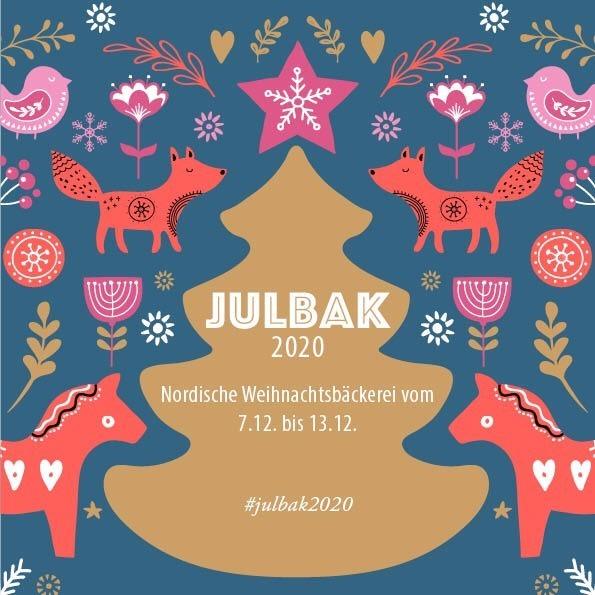 Julbak 2020, gemeinsame Aktion von Skandinavienbloggerinnen auf Instagram