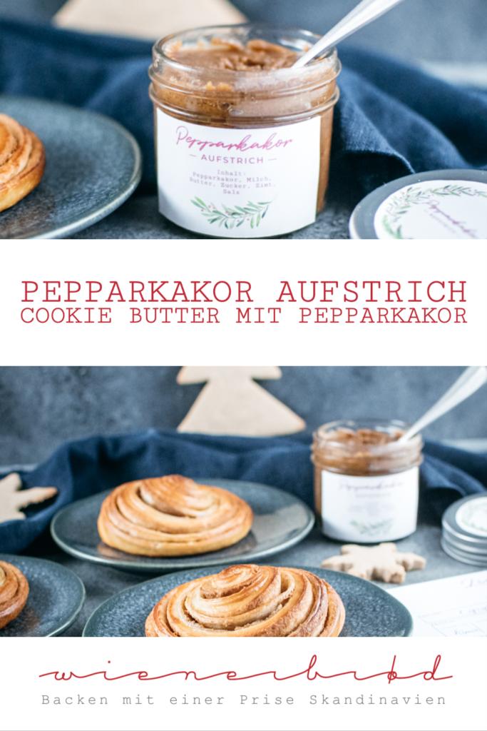 Rezept für Pepparkakor Aufstrich, Cookie Butter mit Pepparkakor, ähnlich der Spekulatius-Creme Biscoff / Recipe for Pepparkakor cookie butter [wienerbroed.com]