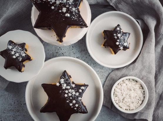 Mein Rückblick auf das Jahr 2020 (Achtung, lustig und ernst zugleich!) und mein Rezept für Baumkuchen-Sterne mit Sprinkles und Glitzer