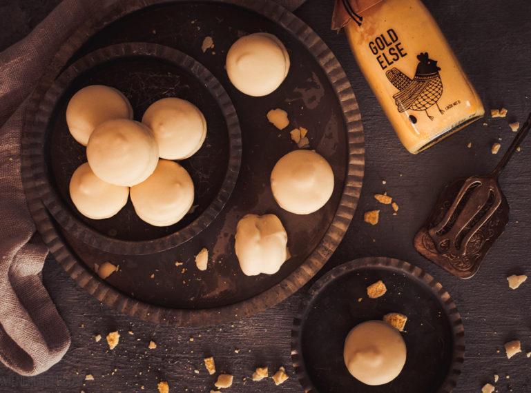 Eierlikör-Macarons | Ei, Ei, Ei, Macaron