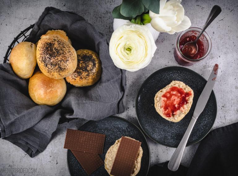 Rezept für Rundstykker   Dänisch zum Frühstück