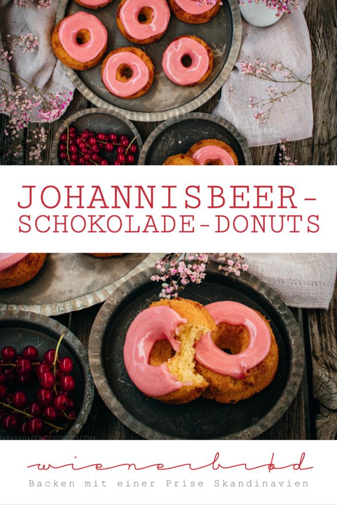 Johannisbeer-Schokolade-Donuts   © Katharina Laurer, wienerbroed.com