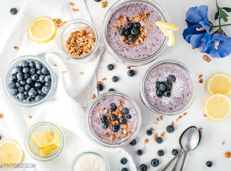 Rezept für Blåbærkoldskål   #healthysummerfood auf dänisch