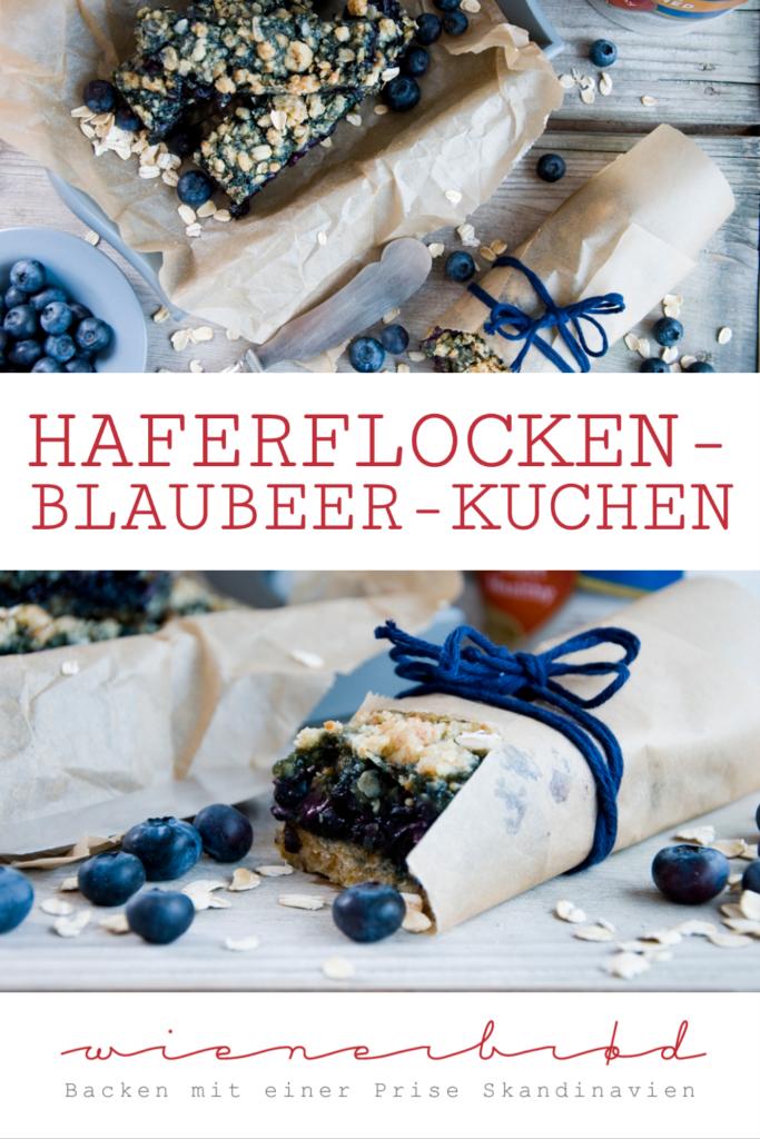Haferflocken-Blaubeer-Kuchen © Katharina Laurer www.wienerbroed.com