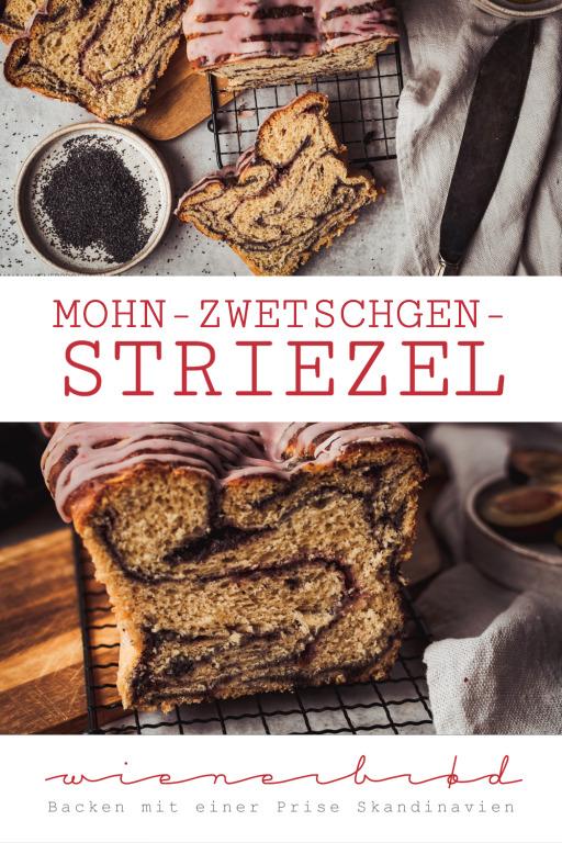 Mohn-Zwetschgen-Striezel | © Katharina Laurer [www.wienerbroed.com]