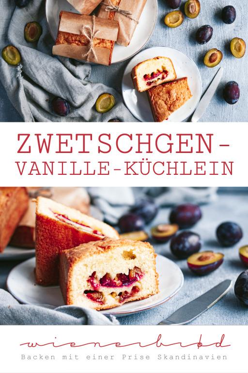 Zwetschgen-Vanille-Küchlein © Katharina Laurer, www.wienerbroed.com